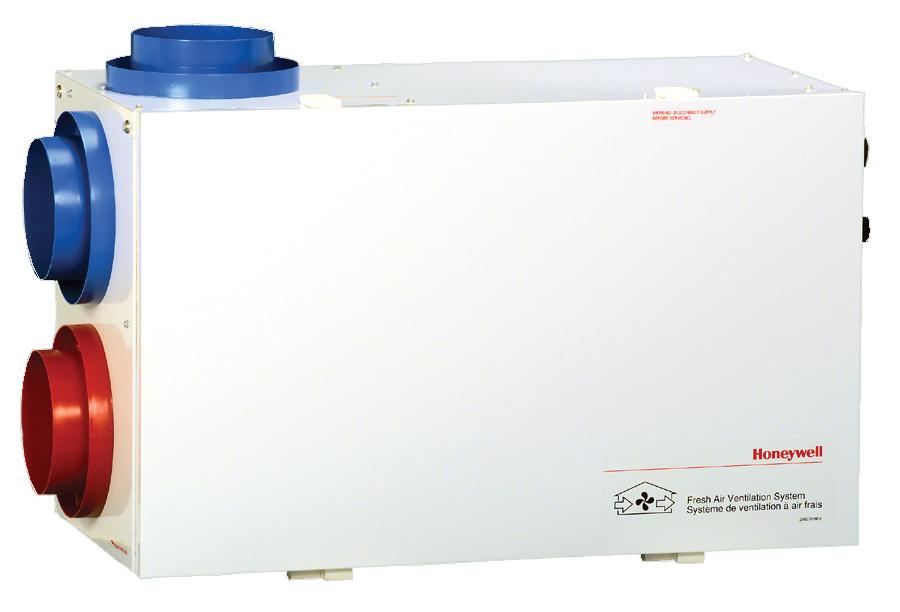 Honeywell HRV (Heat Recovery Ventilator)