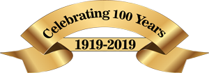 100 years of service graphic