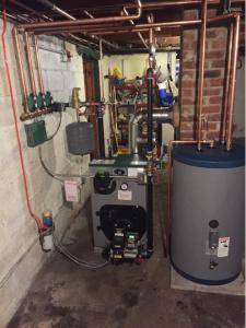 Peerless Boiler with Indirect Water Heater